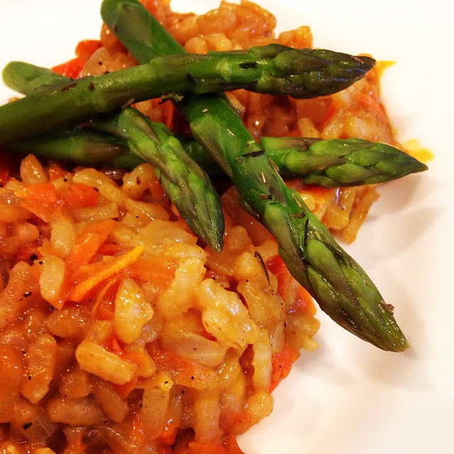 Black Pepper Carrot Risotto | the Herbivore House
